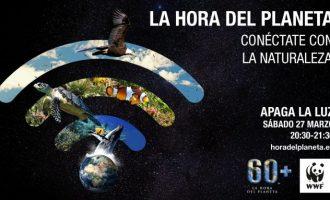 Benicàssim apagarà llums d'alguns espais per unir-se a l'Hora del Planeta