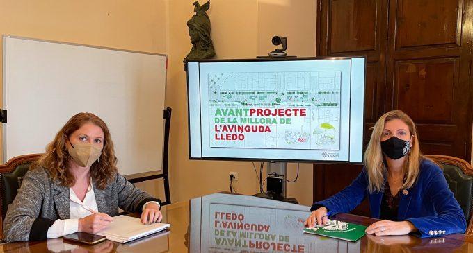 Castelló prioriza la creación de ocupación en la licitación de la mejora de la avenida Lledó