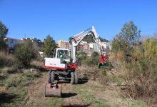 Avanzan los trabajos de limpieza del río de l'Alcora