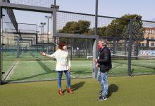 El complejo municipal de pádel de la Vall d'Uixó cuenta con más de 3.200 usuarios y usuarias