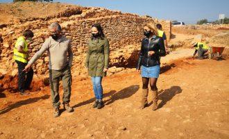Descoberts prop de 10 metres de muralla iberorepublicana en els treballs del Torrelló d'Almassora