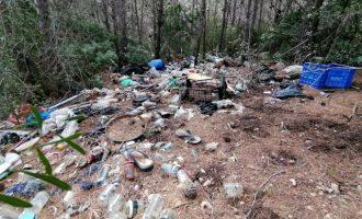 Peníscola denuncia la falta de recursos per a neteja i manteniment al Parc Natural de la Serra d'Irta