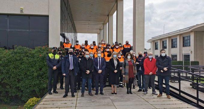 Protección Civil de Almenara representa la provincia de Castellón el Día Mundial del Voluntariado de Protección Civil