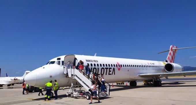 El aeropuerto de Castelló prevé reactivar la ruta a Bilbao en junio
