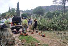Benicàssim continúa con las labores de prevención de incendios forestales en urbanizaciones de montaña