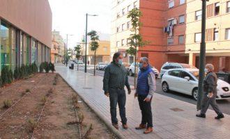 El barrio la Bosca de Borriana inicia su revitalización con la creación de un bulevar