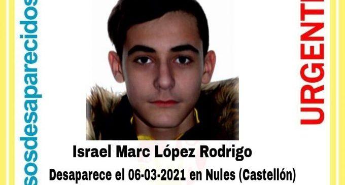Busquen un jove desaparegut a Nules