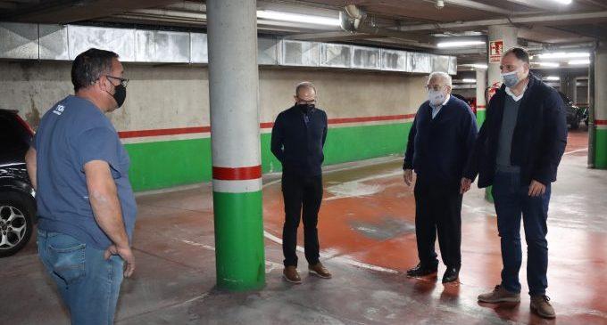 Onda reforma el parking de plaza España y recupera la hora gratuita