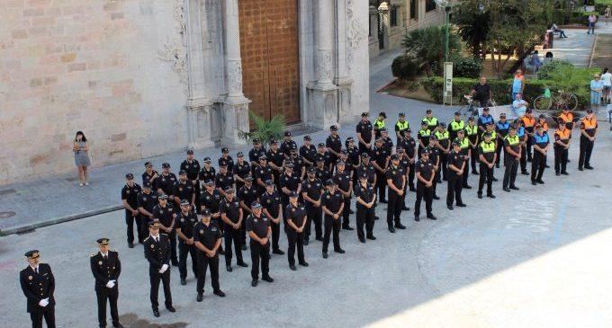 Al voltant de 60 policies locals de Borriana menors de 55 anys es vacunen contra la Covid