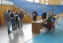 El polideportivo de Benicàssim se transforma para acoger la vacunación masiva