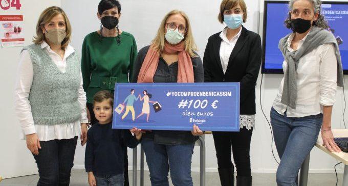 Benicàssim realitza el primer sorteig de 500 euros de la campanya #YoComproEnBenicàssim