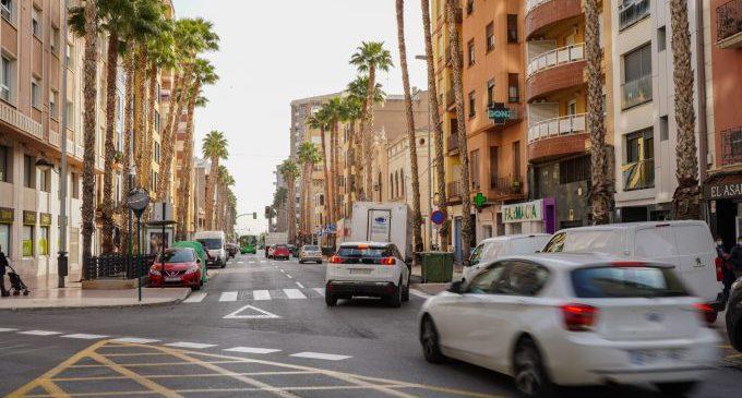 La reforma de l'avinguda Lledó de Castelló guanya espai públic segur per a les persones i redueix el trànsit