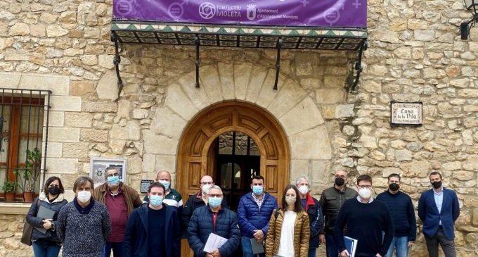 La Diputació de Castelló reuneix les alcaldies del nou consorci del Pla de l'Arc per avançar en la gestió solidària de l'aigua a la província