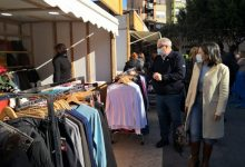 Los comercios de Almassora salen a la calle en una nueva feria en Santa Quitèria