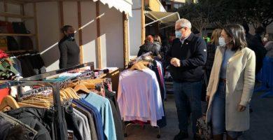 Els comerços d'Almassora ixen al carrer en una nova fira en Santa Quitèria