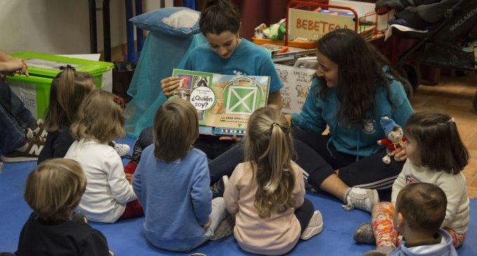 La Bebeteca d'Onda convoca noves sessions per a estimular l'escolta atenta de bebés