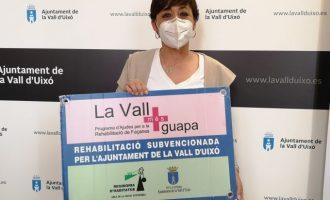 La Vall d'Uixó abre la solicitud de subvenciones para rehabilitar fachadas con 'La Vall més guapa'