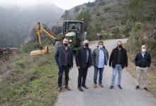La Diputación y la Generalitat avanzan en la profesionalización de las brigadas de mitigación de riesgos por incendios forestales