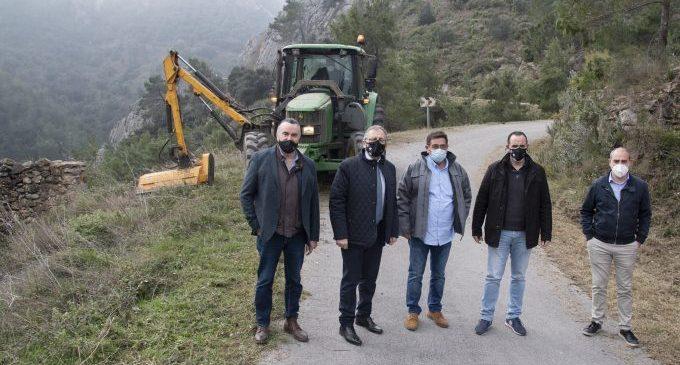 La Diputació i la Generalitat avancen en la professionalització de les brigades de mitigació de riscos per incendis forestals