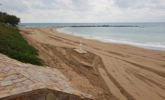 Vinaròs posa a punt el litoral de cara a la nova temporada turística
