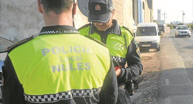 La Policia de Nules aconsegueix detindre a un home que havia d'entrar a la presó