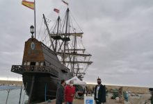 El Galeón Andalucía atraca en Peñíscola para comenzar las visitas