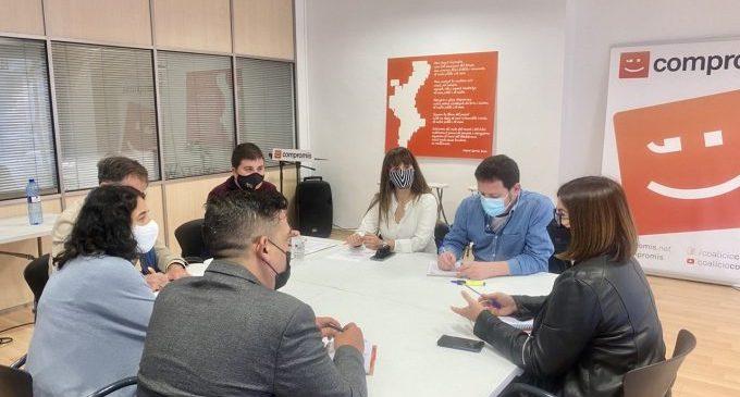 Compromís y CHA advierten del peligro de la especulación energética en las comarcas más despobladas de Castelló y Teruel