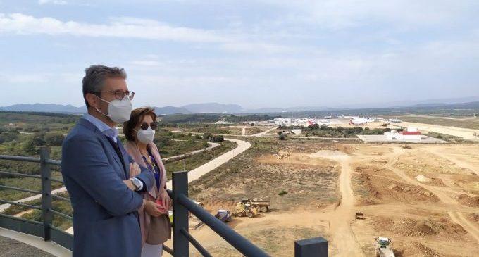 L'aeroport de Castelló impulsa inversions per quasi 600.000 euros per a afavorir el desenvolupament de l'activitat i avançar en la diversificació