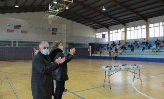 La alcaldesa de Borriana clausura las XVIII Jornadas Multideportivas y de Hábitos Saludables de Pascua