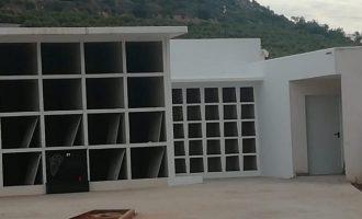 El cementeri municipal d'Almenara disposa d'un nou columbari