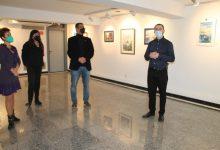 La Sala Escena de Benicàssim acoge las acuarelas de Tiberiu Mateescu en una exposición