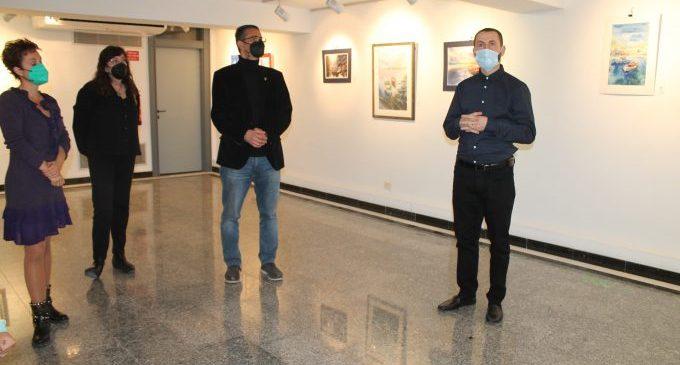 La Sala Escena de Benicàssim acull les aquarel·les de Tiberiu Mateescu en una exposició
