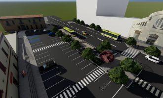 Les obres en el pàrquing de l'estació de Vila-real donaran pas a un bescanviador de transports modern