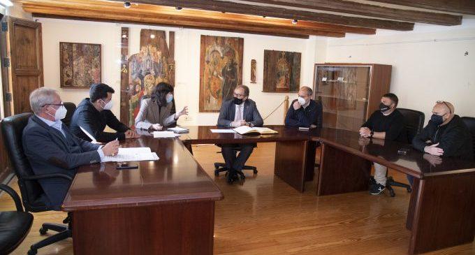 José Martí destaca que la Diputació transferirà aquest any més de dos milions d'euros als pobles dels Ports, el doble que en 2019