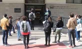 Benicàssim reprén els processos selectius presencials amb el primer exercici de l'oposició de tècnic de joventut