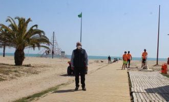 Borriana, preparada para celebrar las Pascuas en las playas y zona marítima