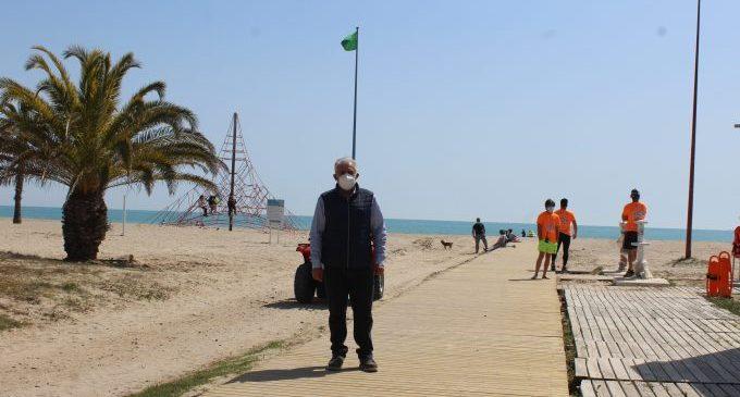 Borriana, preparada per a celebrar la Pasqua a les platges i zona marítima