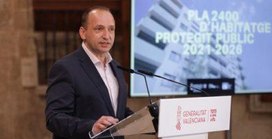 El Plan 2400 invertirá casi 300 millones de euros en la dignificación de viviendas en la Comunitat Valenciana