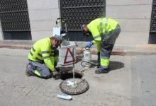Borriana i Facsa intensifiquen la campanya preventiva de control de plagues en la xarxa municipal de clavegueram