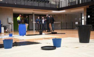 La Conselleria repararà d'emergència la coberta del pavelló del Centre de Tecnificació Esportiva de Vila-real