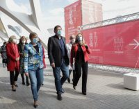 Ximo Puig anuncia que L'Auditori de Castelló començarà aquest dilluns amb la vacunació massiva