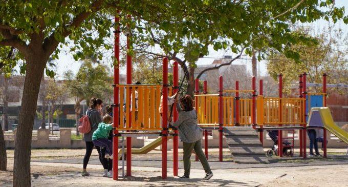 Castelló renovarà el contracte de manteniment de les 155 zones de jocs que té la ciutat