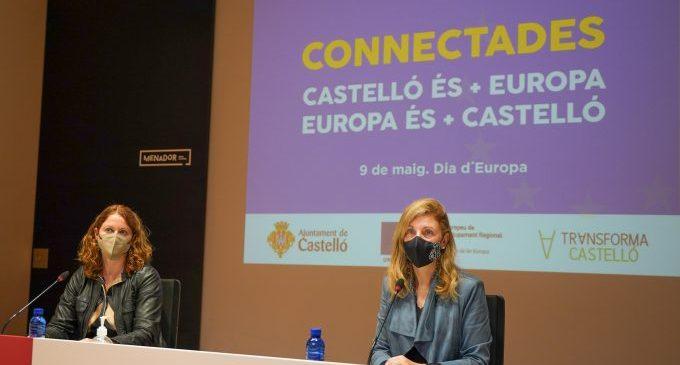 Castelló visibilitza en el Dia d'Europa la seua transformació amb 40 milions  captats per a projectes sostenibles i innovadors