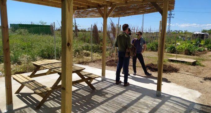 Castelló millora els horts urbans per a convertir-los en punts de trobada veïnals i acostar l'agricultura a la ciutat