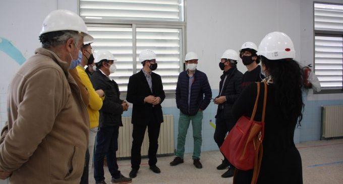 L'alumnat del CEIP Cervantes de Castelló torna al centre amb la renovació integral de la teulada