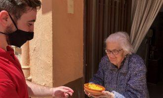 Més de 600 majors d'Almassora rebran arròs de les Calderes de Santa Quitèria aquest dissabte