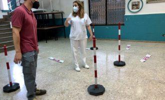 El Centre Sant Felip d'Almassora s'adapta per a acollir la vacunació massiva