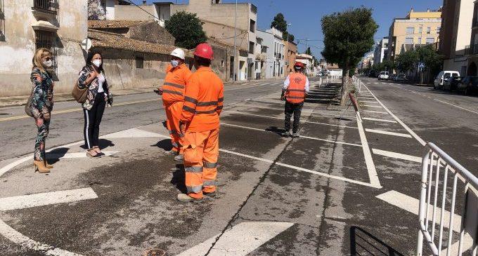 Les obres del bulevard Sant Jaume arranquen a Almassora amb 580.000 euros de pressupost