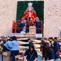 Almassora reinventa l'ofrena flors a Santa Quitèria