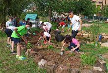 L'alumnat del col·legi Cervantes participa en els tallers d'aprenentage ambiental del projecte Aula Viva